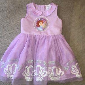 Disney Store Sophia the First Tutu Dress
